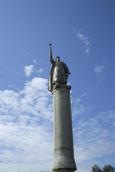монумент Богдана Хмельницького у с. Тягинка