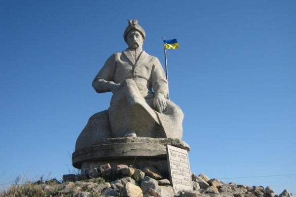 Пам'ятник Богданові Хмельницькому у с. Тягинка