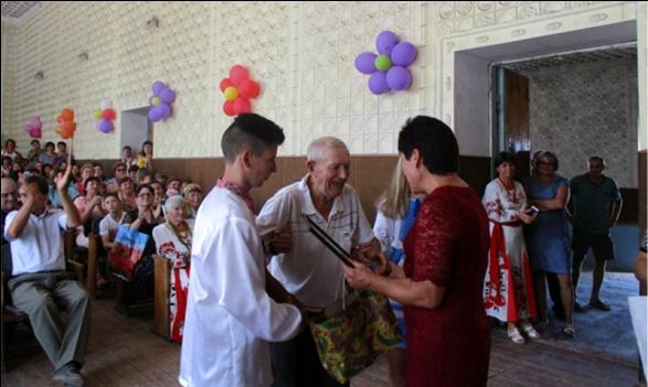 Найстаршому жителю села